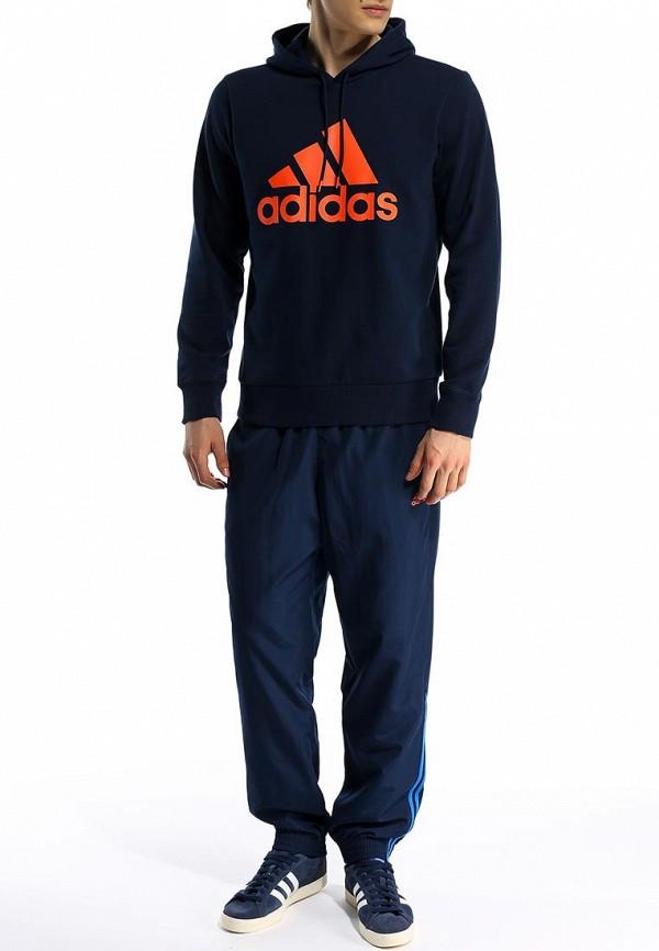 Мужские спортивные брюки Adidas Performance (Адидас Перфоманс) S90572: изображение 3
