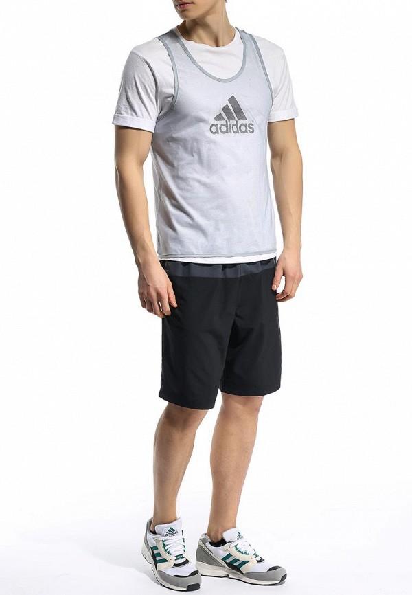Спортивная майка Adidas Performance (Адидас Перфоманс) D84856: изображение 3