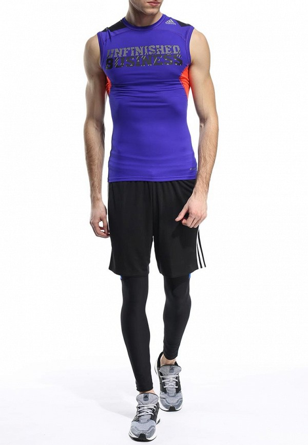 Спортивная майка Adidas Performance (Адидас Перфоманс) S20813: изображение 3