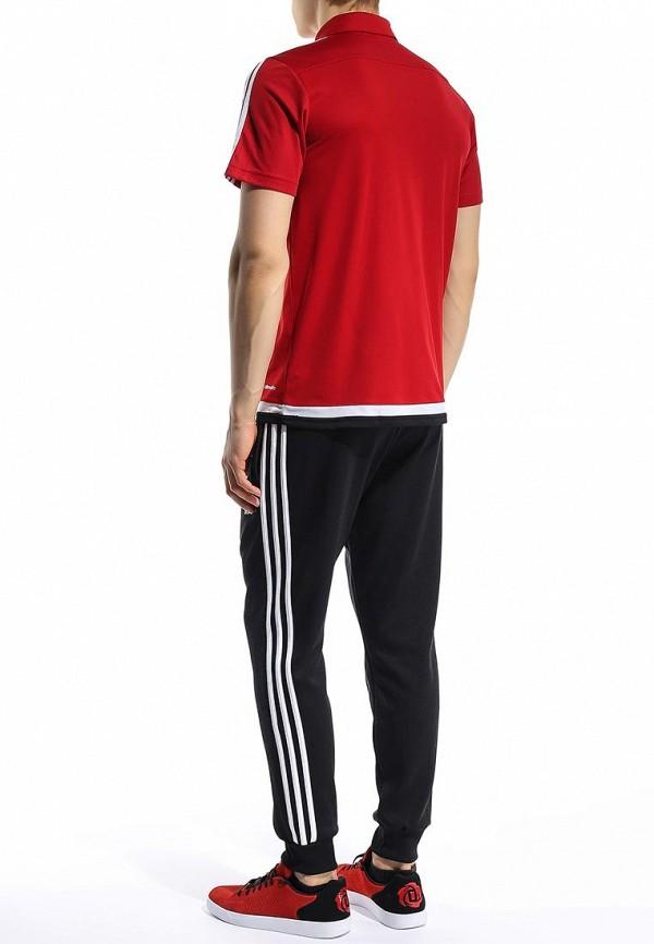 Мужские поло Adidas Performance (Адидас Перфоманс) M64024: изображение 4