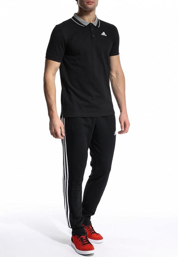 Мужские поло Adidas Performance (Адидас Перфоманс) S12329: изображение 4