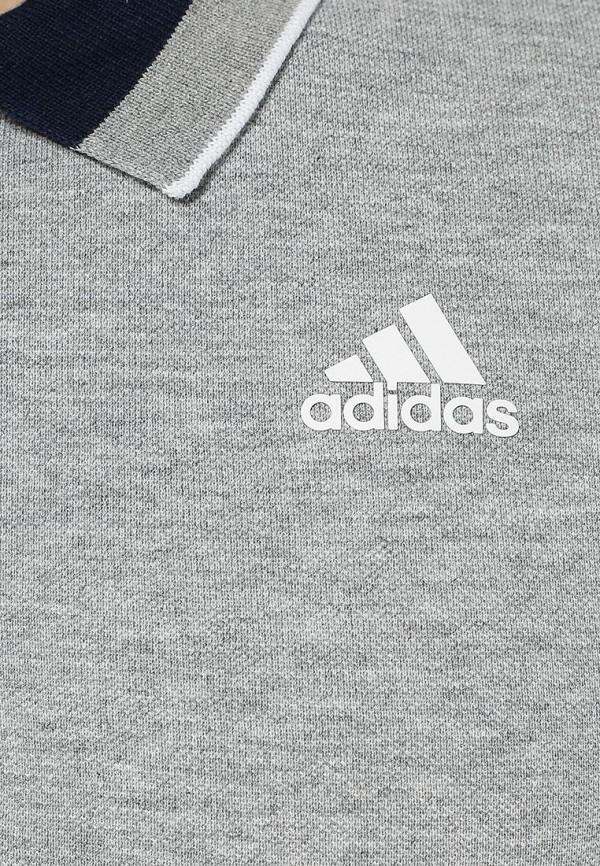 Мужские поло Adidas Performance (Адидас Перфоманс) S12888: изображение 3