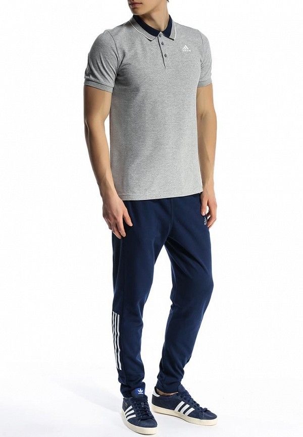 Мужские поло Adidas Performance (Адидас Перфоманс) S12888: изображение 4