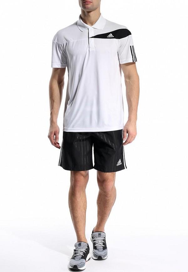 Мужские поло Adidas Performance (Адидас Перфоманс) S15704: изображение 3