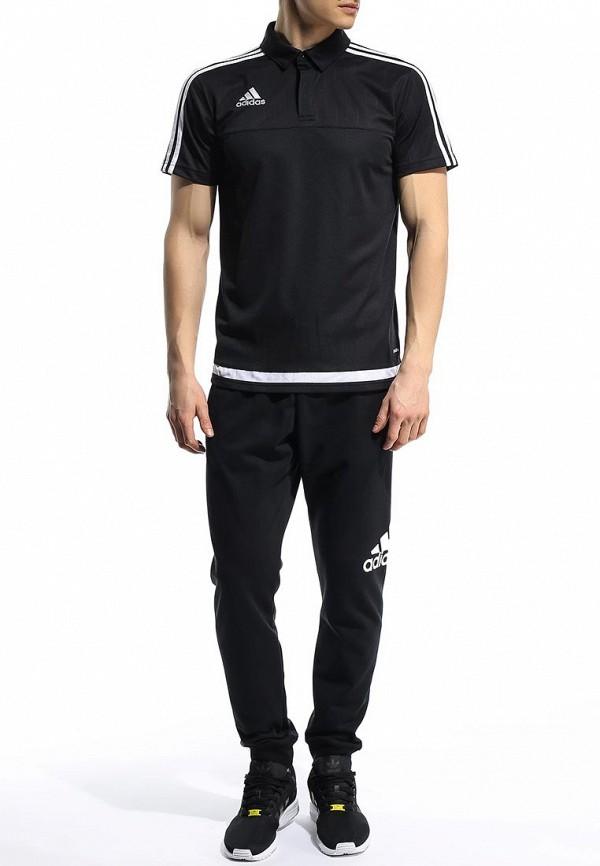 Мужские поло Adidas Performance (Адидас Перфоманс) S22436: изображение 3