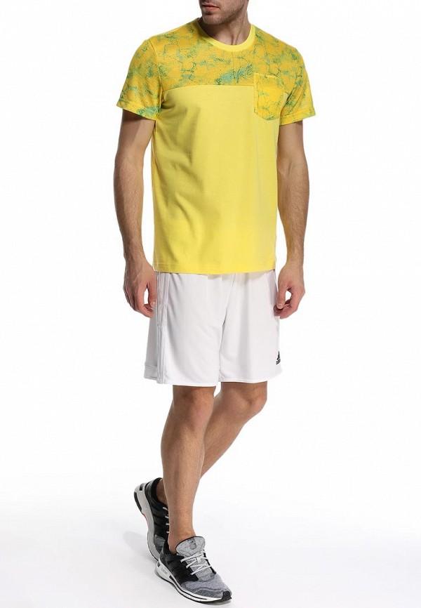 Спортивная футболка Adidas Performance (Адидас Перфоманс) S16006: изображение 3