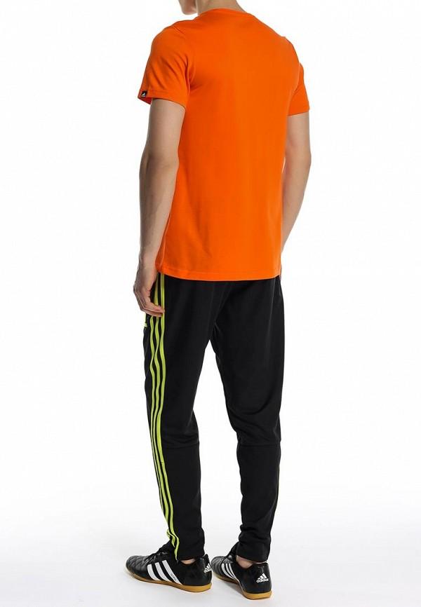 Футболка с надписями Adidas Performance (Адидас Перфоманс) S21509: изображение 4