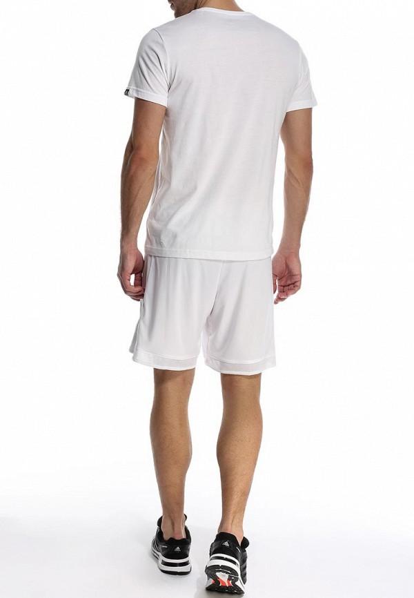 Футболка с надписями Adidas Performance (Адидас Перфоманс) S21541: изображение 4