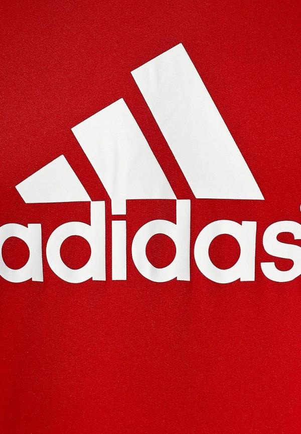 Футболка с надписями Adidas Performance (Адидас Перфоманс) D82940: изображение 3