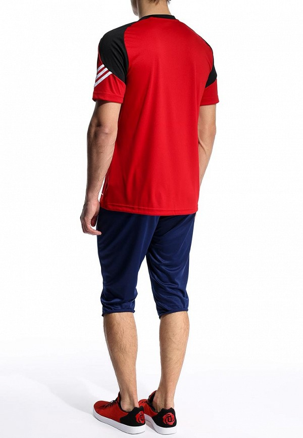 Футболка с надписями Adidas Performance (Адидас Перфоманс) D82940: изображение 5