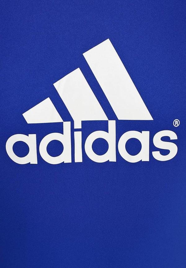 Футболка с надписями Adidas Performance (Адидас Перфоманс) F49699: изображение 3