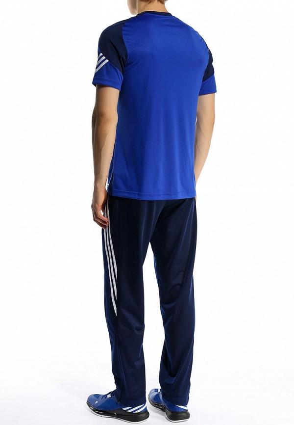 Футболка с надписями Adidas Performance (Адидас Перфоманс) F49699: изображение 5