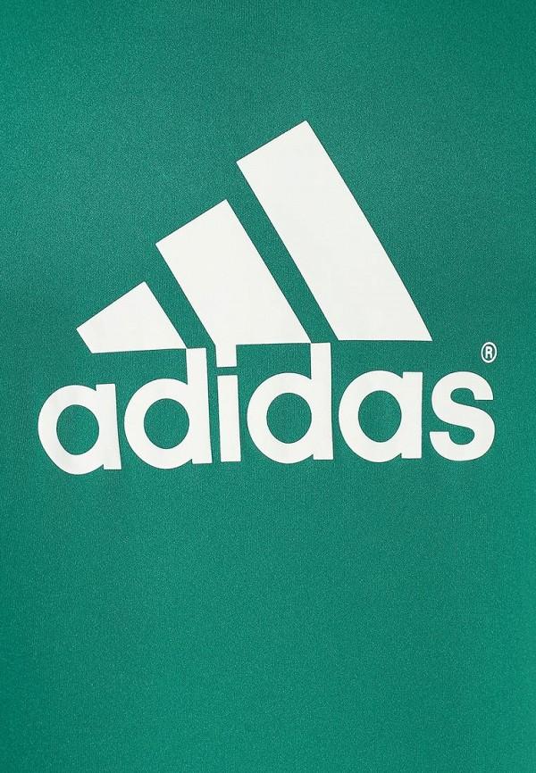 Футболка с надписями Adidas Performance (Адидас Перфоманс) F49702: изображение 3