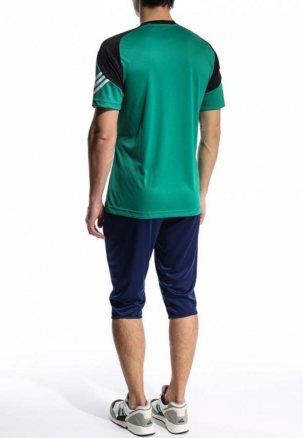 Футболка с надписями Adidas Performance (Адидас Перфоманс) F49702: изображение 5