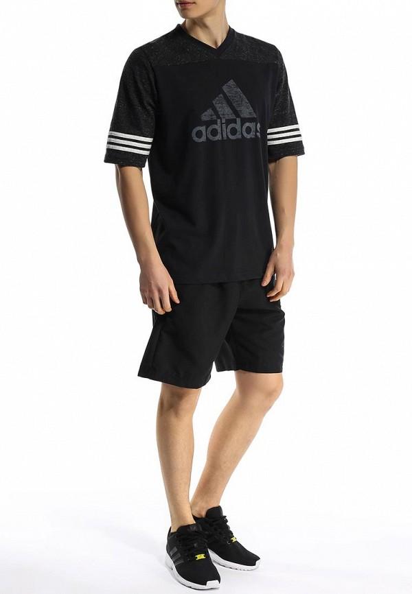 Спортивная футболка Adidas Performance (Адидас Перфоманс) S18009: изображение 3