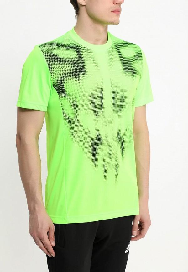 Спортивная футболка Adidas Performance (Адидас Перфоманс) S90138: изображение 2