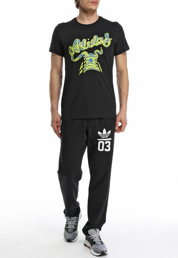 Футболка с надписями Adidas Performance (Адидас Перфоманс) S91421: изображение 4