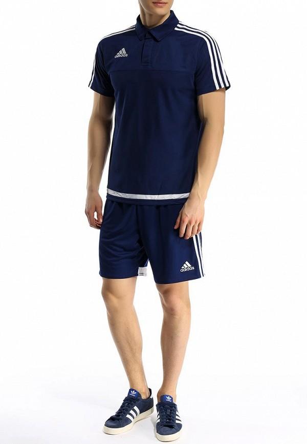 Мужские спортивные шорты Adidas Performance (Адидас Перфоманс) F50571: изображение 3