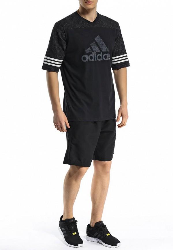 Мужские спортивные шорты Adidas Performance (Адидас Перфоманс) M35338: изображение 3