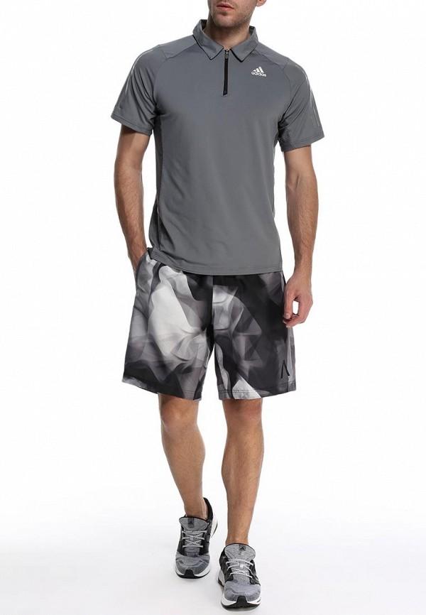 Мужские спортивные шорты Adidas Performance (Адидас Перфоманс) S09945: изображение 3