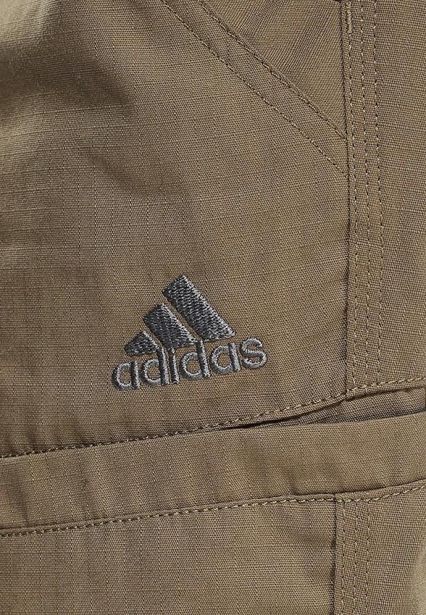 Мужские повседневные шорты Adidas Performance (Адидас Перфоманс) S09968: изображение 3