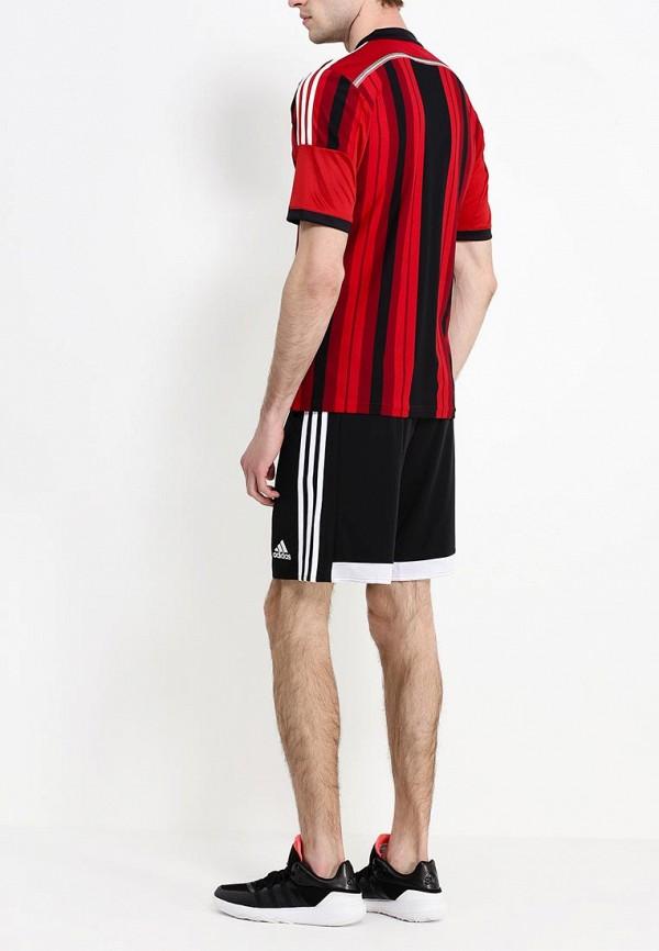 Футболка с надписями Adidas Performance (Адидас Перфоманс) D87224: изображение 4
