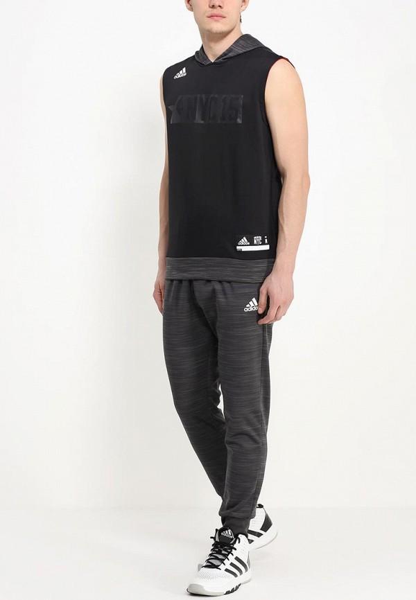 Мужские спортивные брюки Adidas Performance (Адидас Перфоманс) M37544: изображение 3