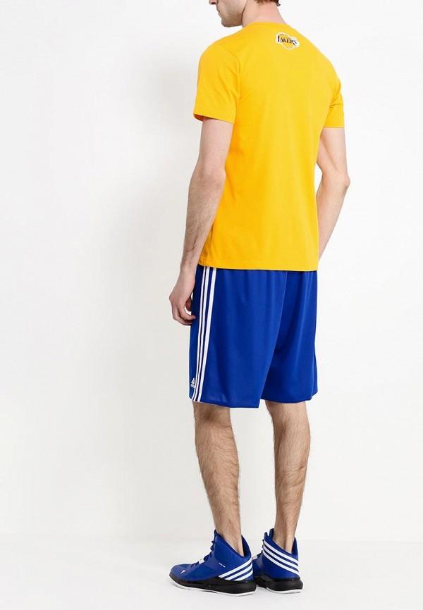 Футболка с надписями Adidas Performance (Адидас Перфоманс) M38348: изображение 4
