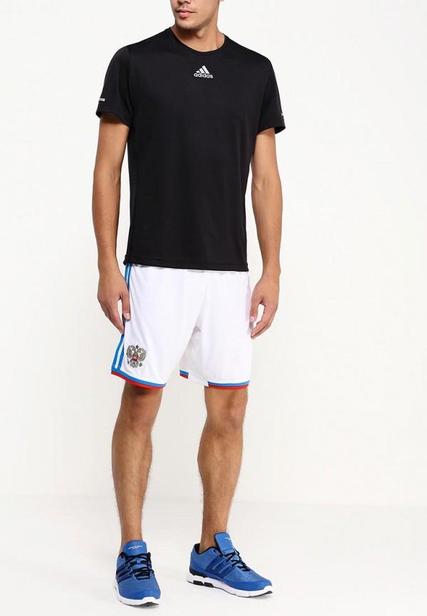 Мужские спортивные шорты Adidas Performance (Адидас Перфоманс) G74496: изображение 3