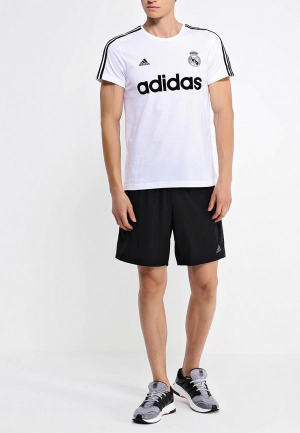 Футболка с надписями Adidas Performance (Адидас Перфоманс) AA2216: изображение 3