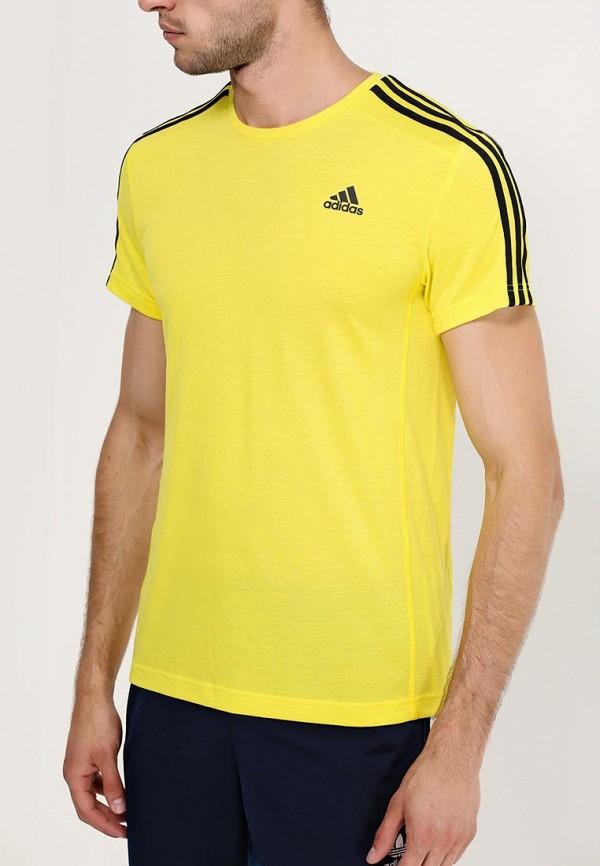 Спортивная футболка Adidas Performance (Адидас Перфоманс) AB6542: изображение 2