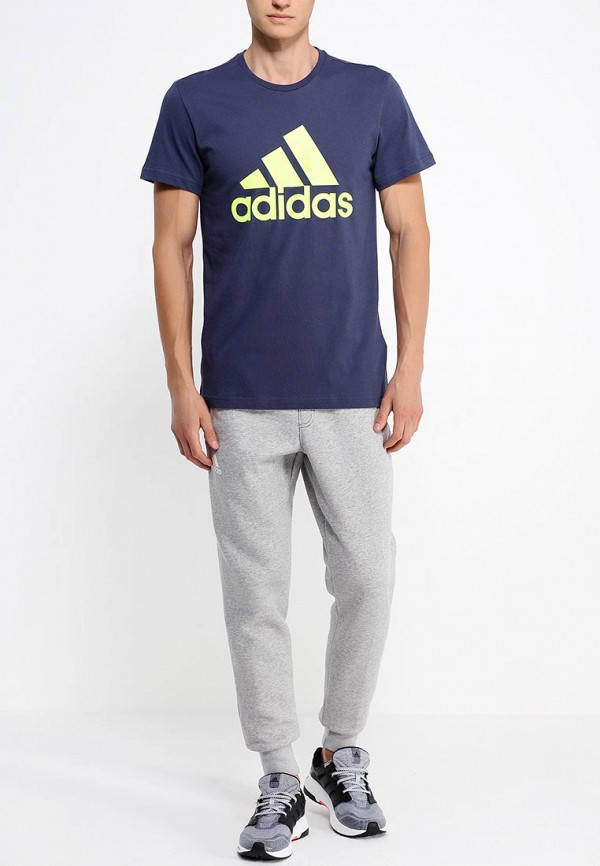 Спортивная футболка Adidas Performance (Адидас Перфоманс) AB6558: изображение 3