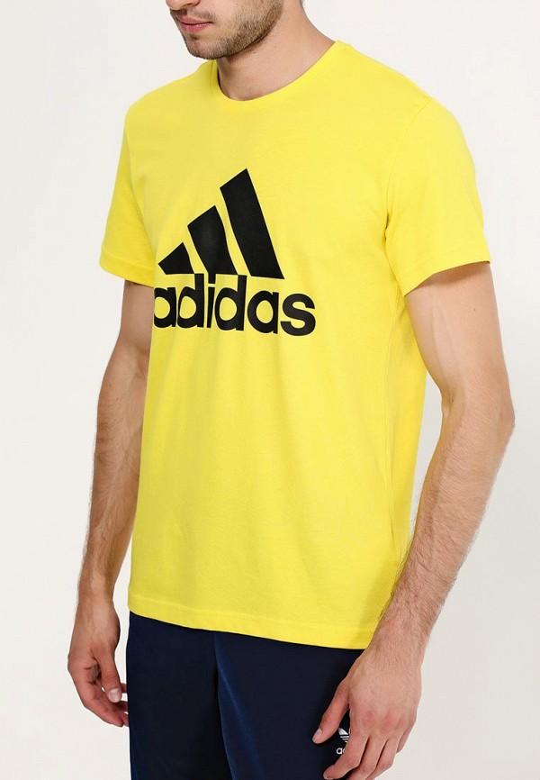Спортивная футболка Adidas Performance (Адидас Перфоманс) AB6559: изображение 2