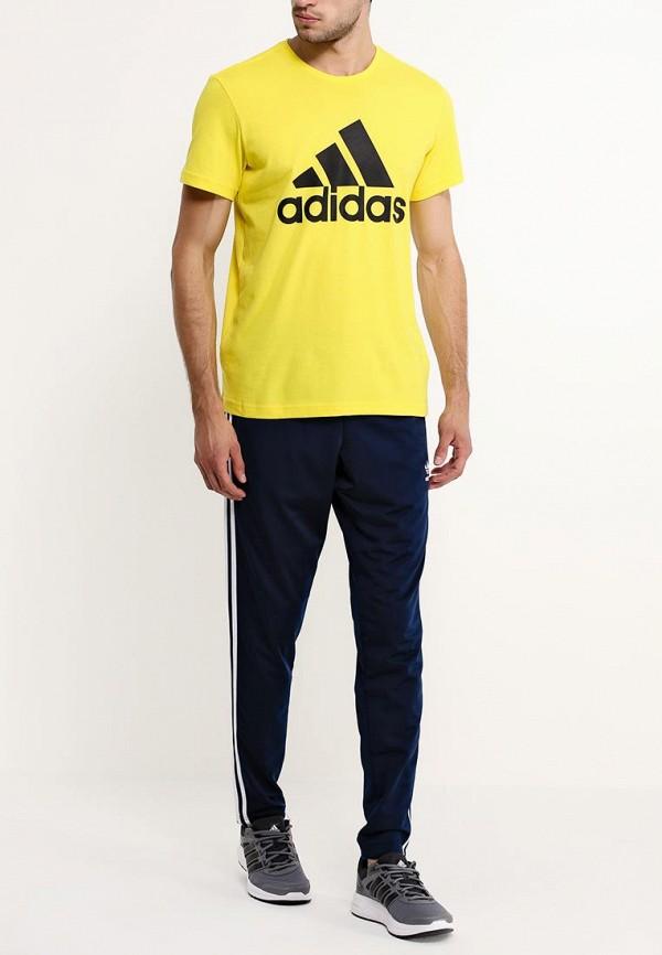 Спортивная футболка Adidas Performance (Адидас Перфоманс) AB6559: изображение 3