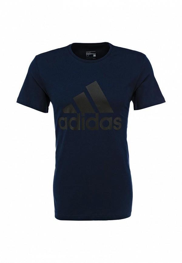 Футболка с надписями Adidas Performance (Адидас Перфоманс) AB6562: изображение 1