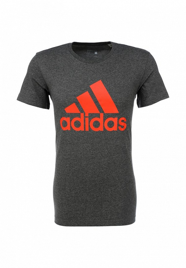 Футболка с надписями Adidas Performance (Адидас Перфоманс) AB6564: изображение 1