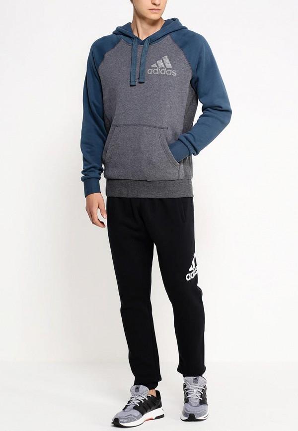 Мужские худи Adidas Performance (Адидас Перфоманс) AB6893: изображение 3