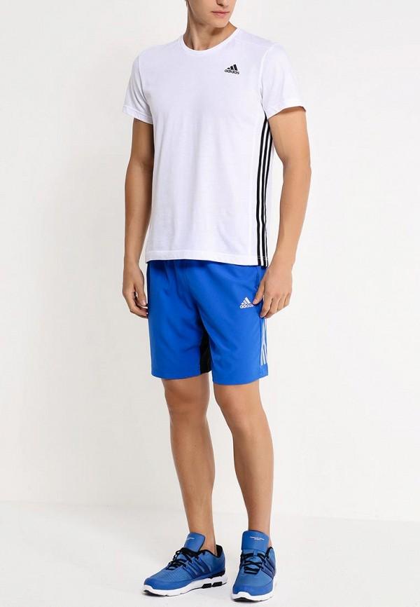 Мужские спортивные шорты Adidas Performance (Адидас Перфоманс) AB7115: изображение 3