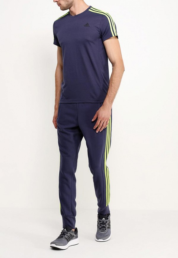 Мужские спортивные брюки Adidas Performance (Адидас Перфоманс) AB7738: изображение 3