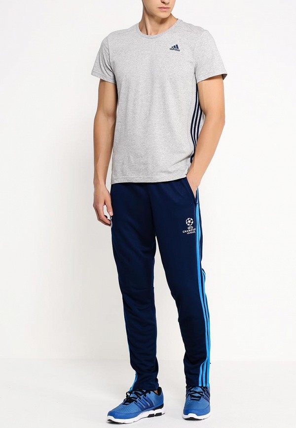 Мужские спортивные брюки Adidas Performance (Адидас Перфоманс) S88988: изображение 3