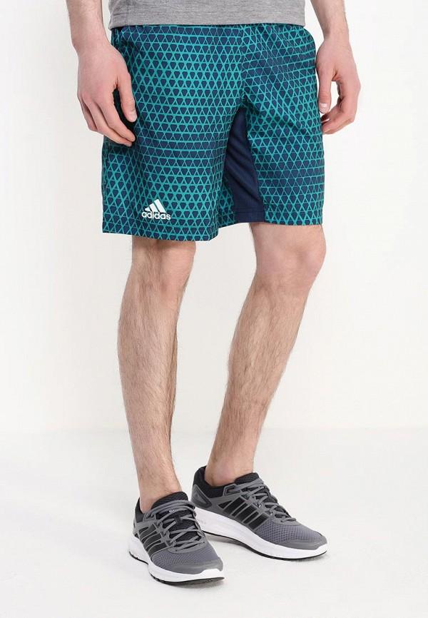 Мужские спортивные шорты Adidas Performance (Адидас Перфоманс) AI0736: изображение 3