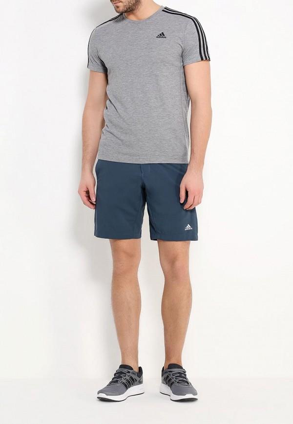 Мужские спортивные шорты Adidas Performance (Адидас Перфоманс) AI2349: изображение 2