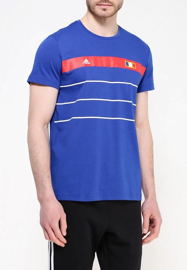 Спортивная футболка Adidas Performance (Адидас Перфоманс) AI5637: изображение 3