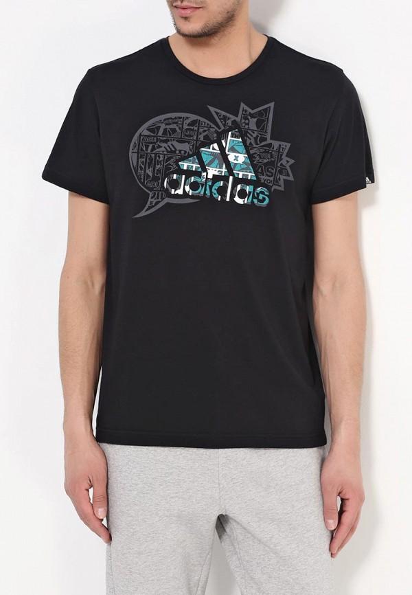 Спортивная футболка Adidas Performance (Адидас Перфоманс) AI6066: изображение 3