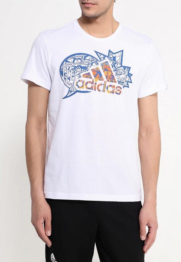 Спортивная футболка Adidas Performance (Адидас Перфоманс) AI6068: изображение 3