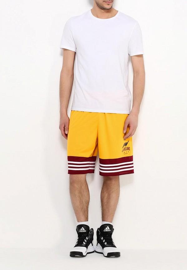 Мужские спортивные шорты Adidas Performance (Адидас Перфоманс) AJ1817: изображение 4