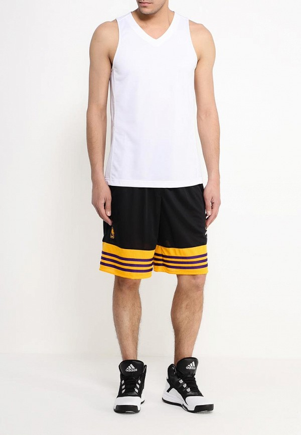 Мужские повседневные шорты Adidas Performance (Адидас Перфоманс) AJ1818: изображение 2