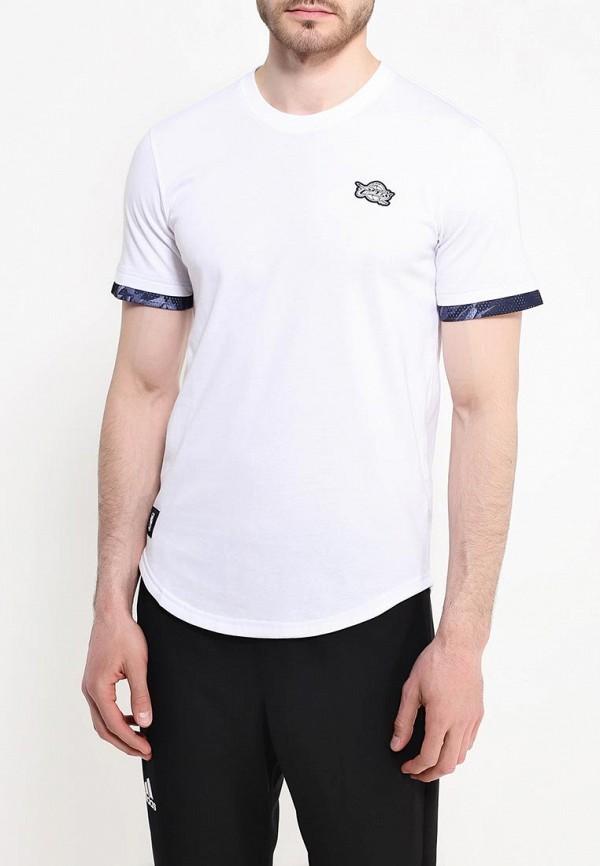 Спортивная футболка Adidas Performance (Адидас Перфоманс) AJ1851: изображение 4