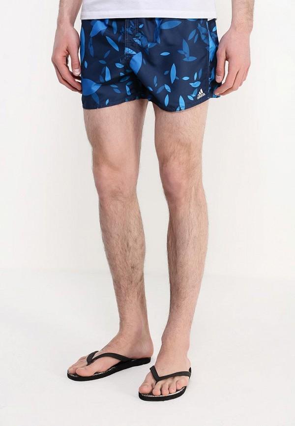 Мужские шорты для плавания Adidas Performance (Адидас Перфоманс) AJ5584: изображение 3