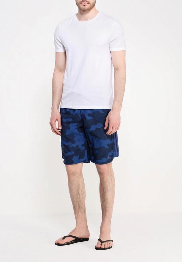 Мужские шорты для плавания Adidas Performance (Адидас Перфоманс) AJ5588: изображение 2